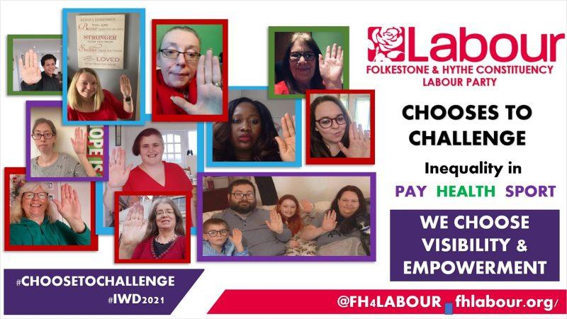 IWD #choosetochallenge