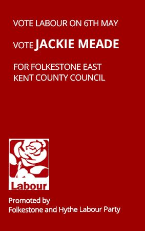 Meet Jackie Meade KCC Labour Party candidate for Folkestone East and Harbour