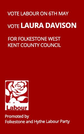 Meet Laura Davison KCC Labour Party Candidate for Folkestone West