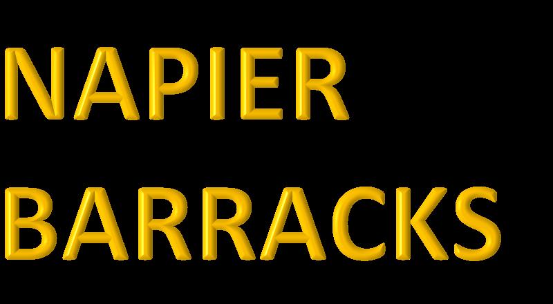 Napier Barracks Update